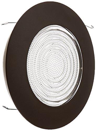 NICOR Lighting 17502OB Lexan Shower Trim with Fresnel Lens, 6-Inch, Oil Rubbed Bronze - Fresnel Shower Trim
