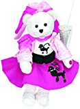 """Chantilly Lane """"Olivia"""" Bear with Poodle Skirt Sings """"You're The One That I Want"""" Plush, 19"""""""