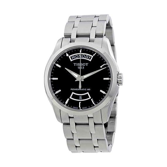 TISSOT RELOJ DE HOMBRE AUTOMÁTICO 38MM CORREA DE ACERO T0354071105101: Amazon.es: Relojes