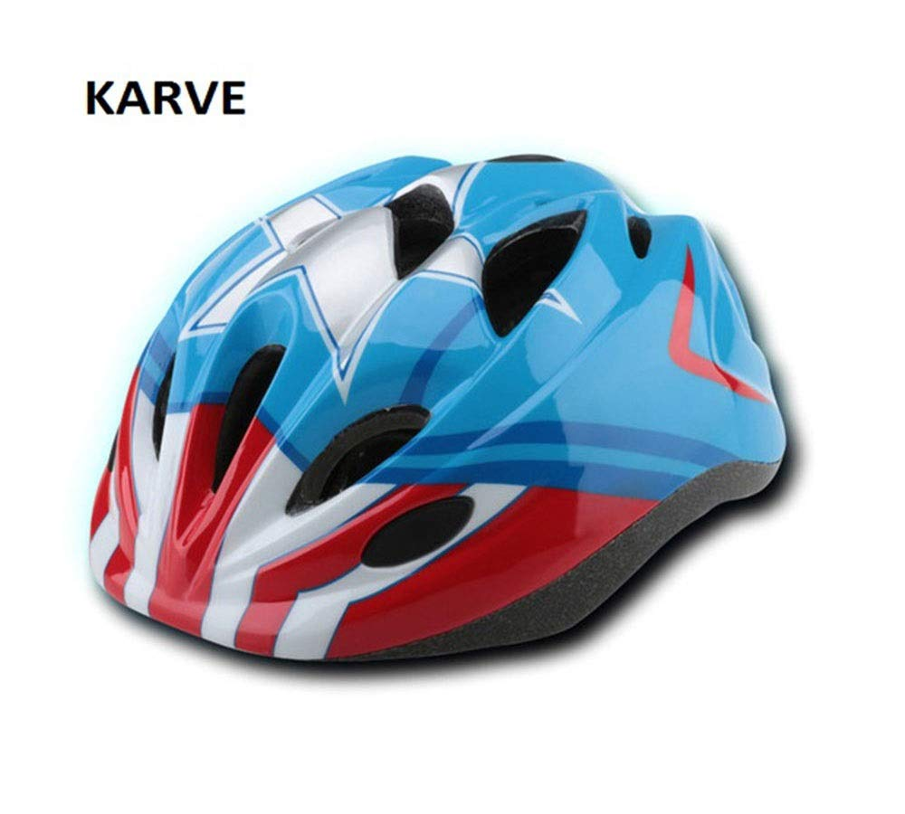 KARVEキッズヘルメットファンタスティックスーパーヒーローバイクヘルメット (Size : S)   B07R4CMQXR