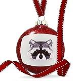 Christmas Decoration Low Poly Animals Modern design Raccoon Ornament