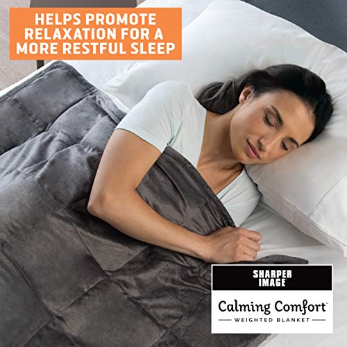 Cheap Calming Comfort Weighted Blanket By Sharper Image 10 Lb 41