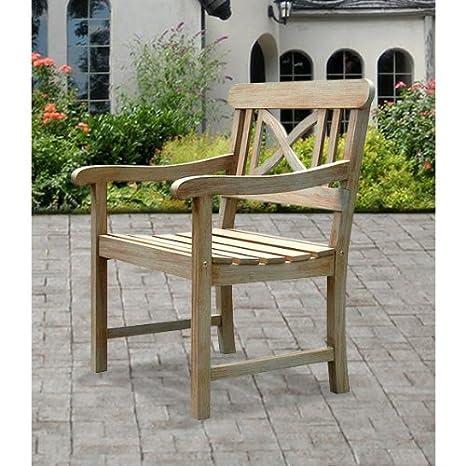 Amazon.com: Renaissance V1298 Sillón de madera al aire ...