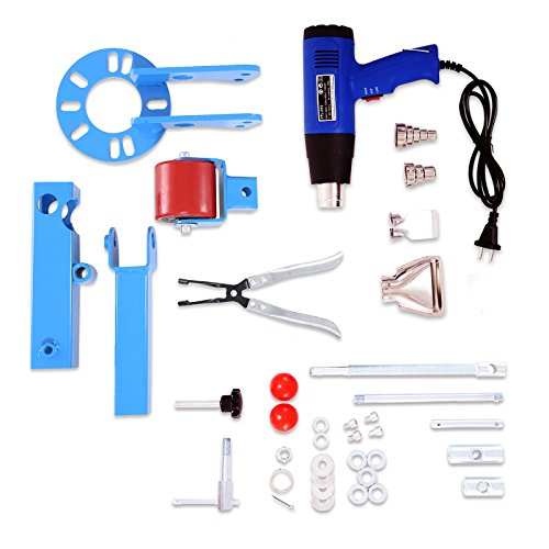 BestEquip Fender Roller Kit Reforming Extension Fender Roller Tool Auto Body Wheel Arch Roller with 1500W Heat Gun and Fender Finisher