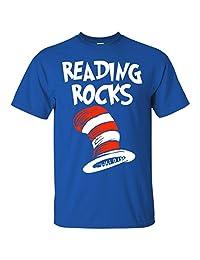 Reading rocks Dr.seuss T-Shirt