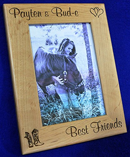 - Horse Picture Frame ~ Horse ~ Custom Picture Frame ~ Picture Frame ~ Horse Lover Gift ~ Pet Frame ~ Best Friend Gift ~ Frames ~ Western Frame ~ Pets ~ Horse Gift