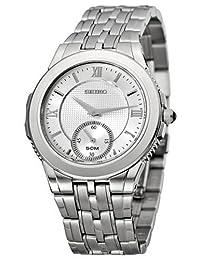 Seiko Men's SRK009 Le Grand Sport Silver-Tone Watch