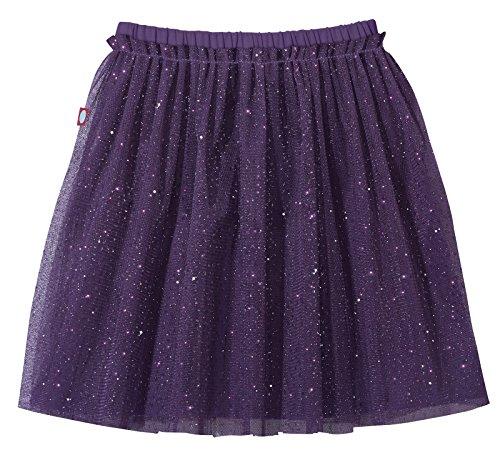 City Threads Girls Tutu Skirt Sparkle Tulle Bubble Mesh Skirt Princess Ballerina Play Sundress Summer Dance Soft Cotton Ballet Party Dress, Purple, 10 ()