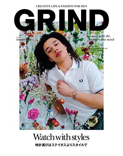 GRIND 2018年6月号 大きい表紙画像
