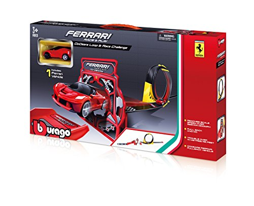 Bburago Ferrari Race and Play GoGears Loop and Race Challenge Playset