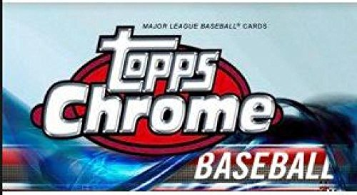 Topps MLB 2018 Chrome Baseball Trading Card Blaster Box [7 Packs]