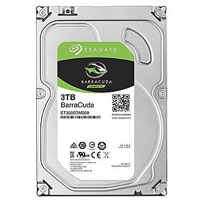 Seagate 500GB BarraCuda SATA 6Gb/s 32MB Cache 3.5-Inch Internal Hard Drive from Seagate