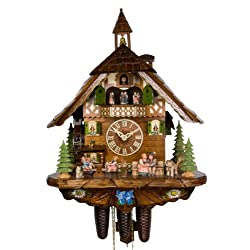 Adolf Herr Cuckoo Clock - Happy Family