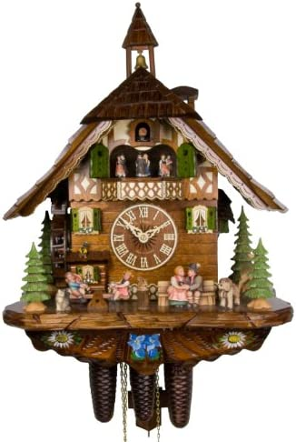 Adolf Herr Cuckoo Clock – Happy Family