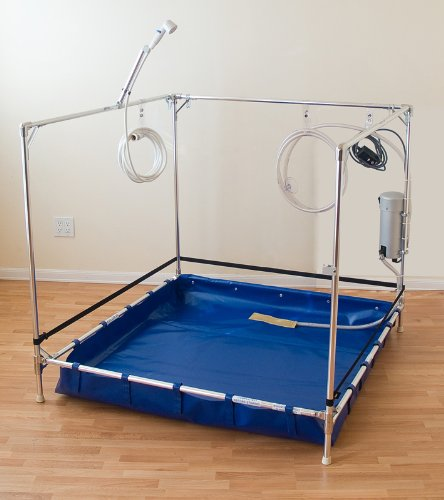 amazon com bariatric wheelchair accessible shower stall for the