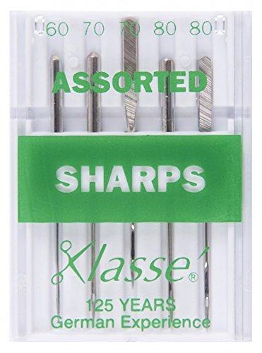 Klasse Universal Sharps Sewing Machine Needles