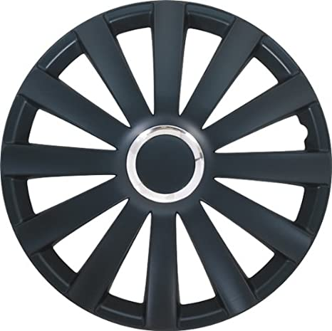 Autostyle Set Spyder 17 Negro - Tapacubos (4 unidades): Amazon.es: Coche y moto