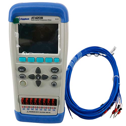Tongbao Thermocouple Temperature Meter AT4208 Handheld Multi-channel Temperature Meter with LCD Display Touch Screen 8 Channels - Multi Monitor Arm Assembly