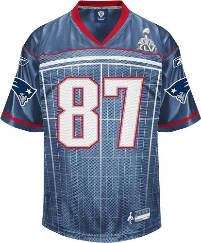 official photos 43c63 acd90 Amazon.com : Reebok New England Patriots Rob Gronkowski ...