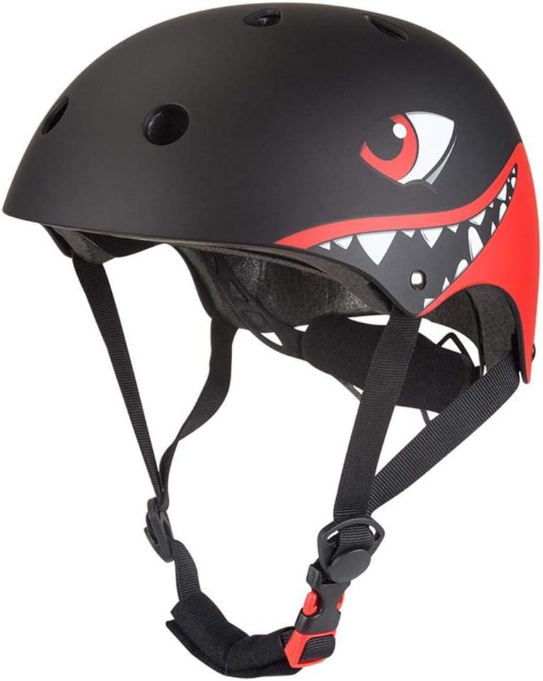 Ploufer Casco Ajustable, 330 g Bicicleta eléctrica Monopatín Scooter Casco de Montar Protector Casco Animal de Dibujos Animados para niños Cabeza Tamaño 51-54cm