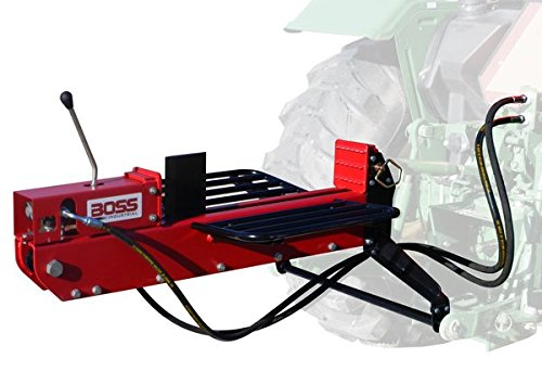 Boss Industrial 3Pt Dual-Action Log Splitter. 16 Ton