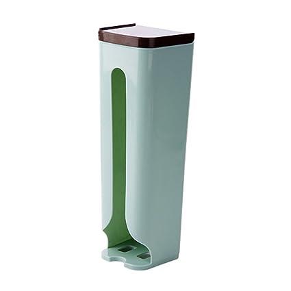 xiduobao soporte de pared bolsa de la compra organizador y dispensador, almacenamiento y reciclaje uso
