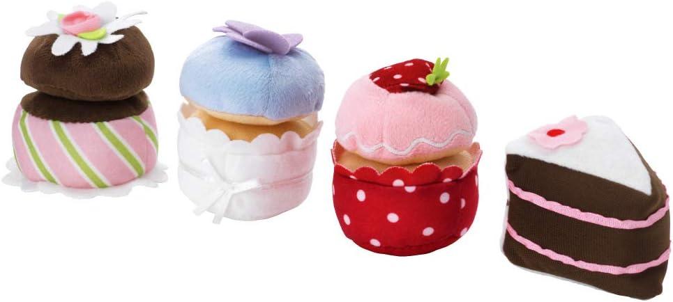 4-piece Cupcake Set Stuffed Plush Toy DUKTIG by IKEA