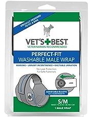 Beste 1 Count Perfect Fit Wasbare Mannelijke Hond Wrap