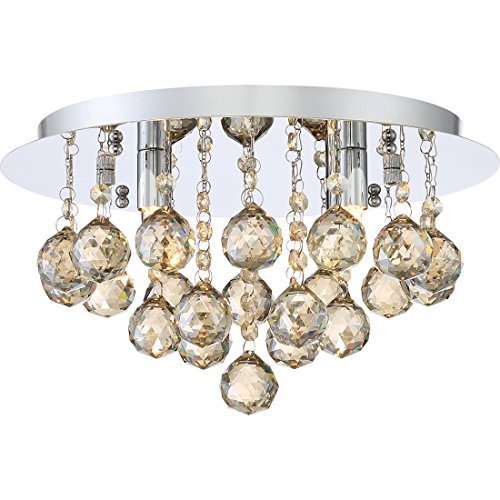 Quoizel BRXA1614C Four Light Flush (Bordeaux Flush Mount Ceiling Light)