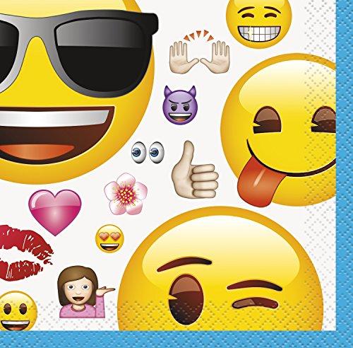 Emoji Beverage Napkins,