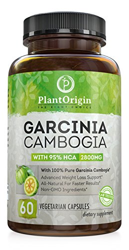 Garcinia Cambogia 95 Hca   Highest Potency Available   1500Mg   60 Vegetarian Capsules