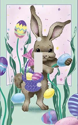 Easter Egg Hunt Switchplate - Switch Plate Cover