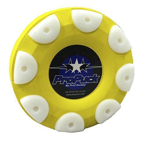Proguard Pro Puck, Yellow - Puck Hockey Roller