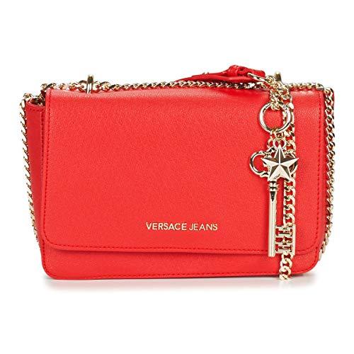 Versace Red Shoulder Bag-EE1VTBBN2 E500 for Womens (Versace Jeans Women)