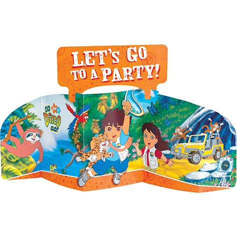Go Diego Go Large Centerpiece [Toy] [Toy] by Amscan