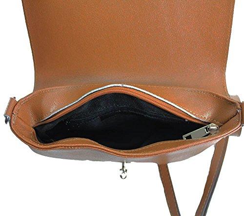 bandoulière pour bandoulière NEUF cuir Small métal SERRURE détail Noir DIVA haute Marron véritable pour 'S femme sac BtTwxPnqOz