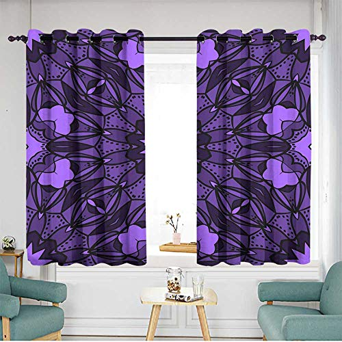 Thermal Insulated Blackout Curtains W 63