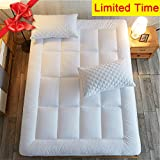 How Long Is a King Size Bed Shilucheng Mattress Pad Cover King Size Down Alternative Quilted Fitted Mattress Topper with 8-21-Inch Deep Pocket by