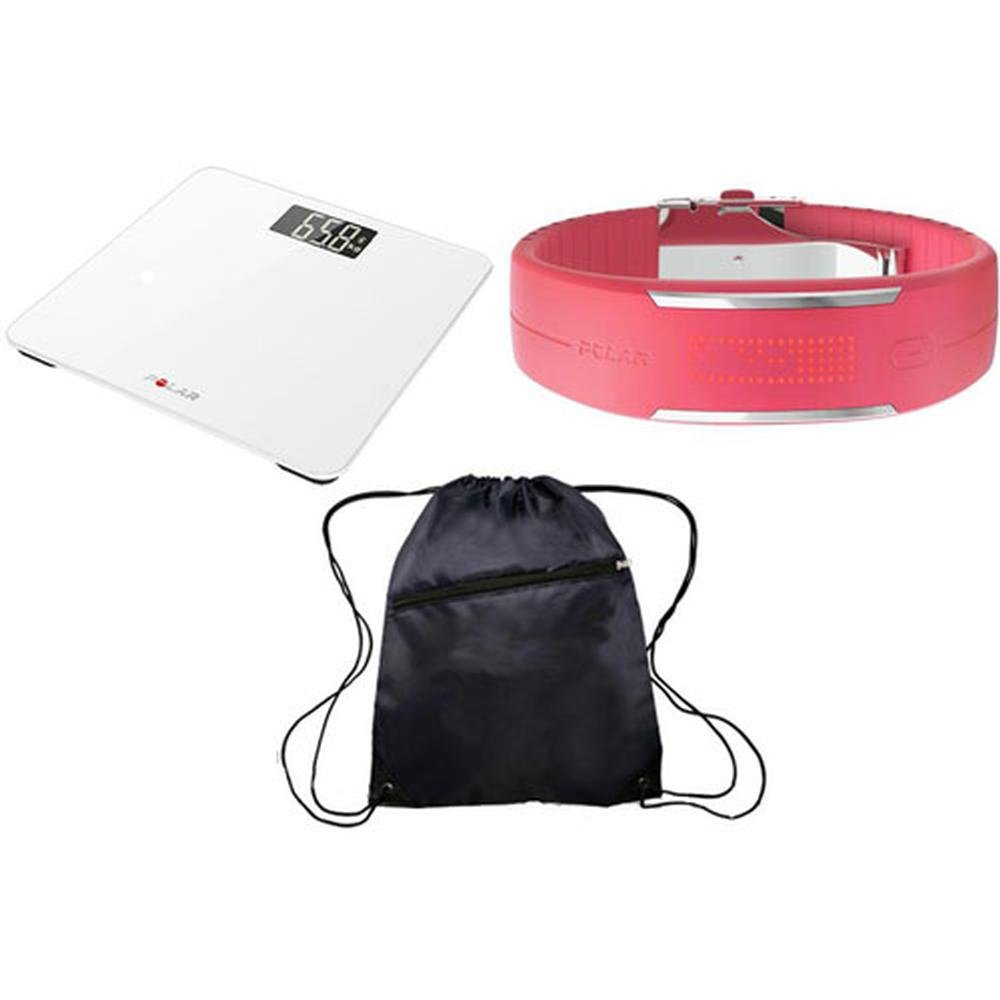 Polar Balance White and Loop 2 Pink Ultimate Health Kit by Polar (Image #1)