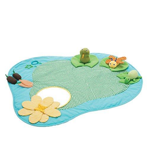 (Manhattan Toy Playtime Pond Multi-Sensory Activity Playmat Baby Toy)