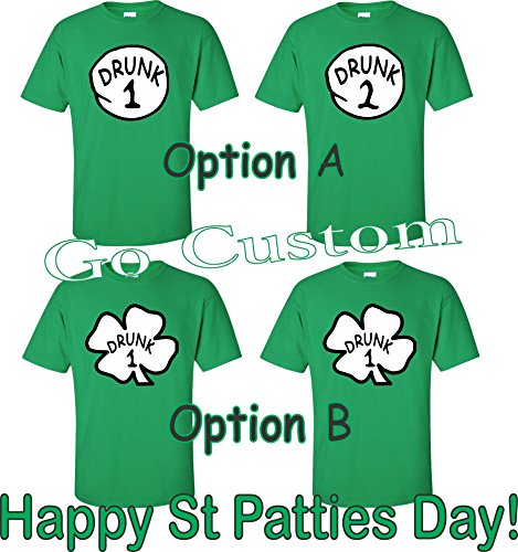 Drunk-123-ST-PATRICKS-DAY-T-SHIRTS-Funny-Matching-Inspired-by-Thing-123-Dr-Suess
