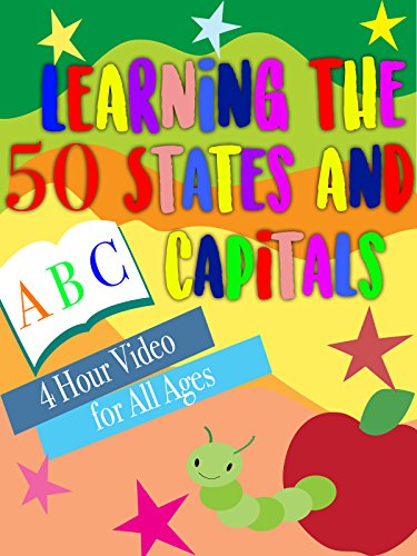 Capital Four - Learning the 50 States and Capitals 4 Hour Video for All Ages