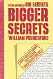 Bigger Secrets, William Poundstone, 039538477X