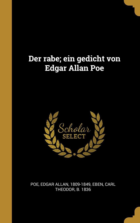 Der Rabe Ein Gedicht Von Edgar Allan Poe German Edition