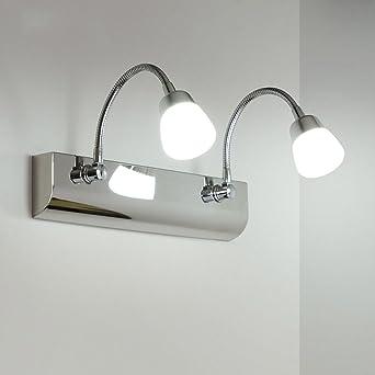 Badleuchten LED Moderne Schlauch Spiegel Frontleuchte Badezimmer ...