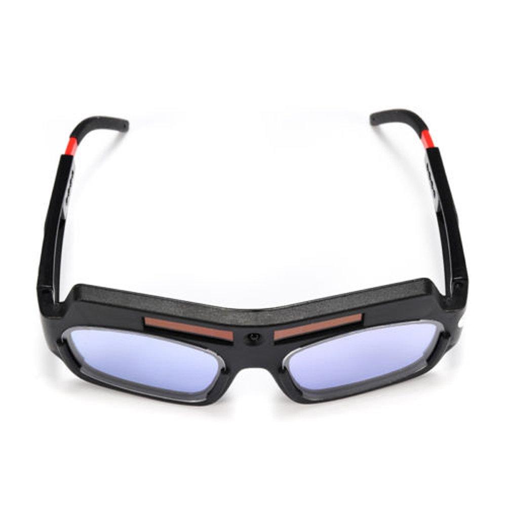 PC Lens Solar Powered Auto Darkening Welding Helmet Eyes Goggle Welder Glasses Arc IT