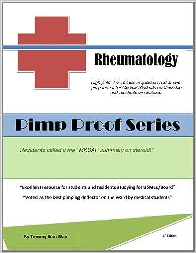 Pimp Proof Series - Rheumatology for USMLE Step 1, 2, 3,