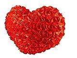 Tickles Red Lovely Heart Cushion Stuffed Soft Plush Toy Love Girl 34 cm