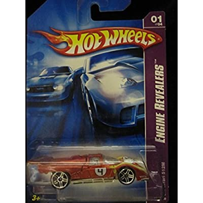 Ferrari 512M Engine Revealers (metalflake red-orange PR5's) 2007 Hot Wheels: Toys & Games