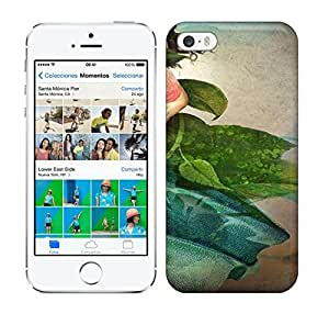Best Power(Tm) HD Colorful Painted Watercolor The Favorite Flower Hard Phone Case For Iphone 5/5S